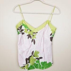 J. Crew Silk blend Floral cami/tank size M